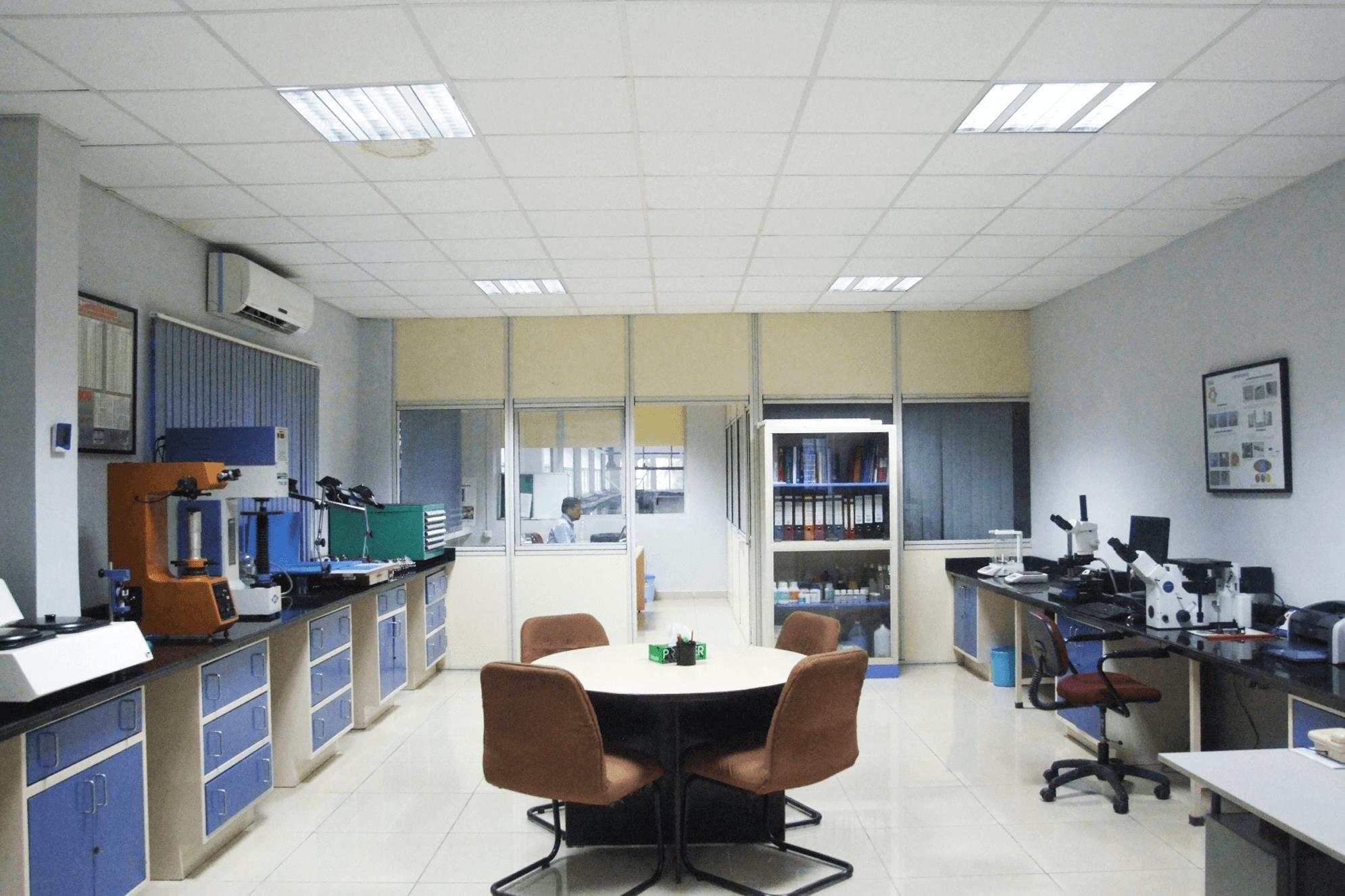 Establish Materials Laboratories